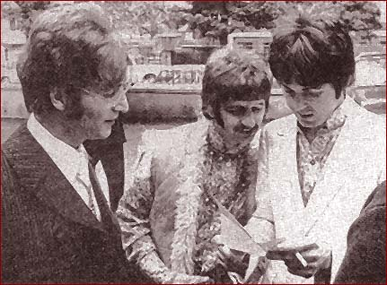 John, Paul, and Ringo is Star !